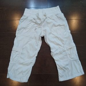 Lululemon | White Capri Loose Fit Pants